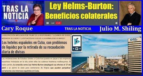 Ley Helms Burton beneficios colaterales Audio