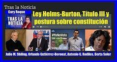 Ley Helms Burton y postura sobre constitucion 238x127
