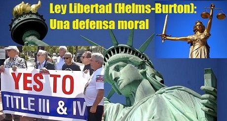 Ley Libertad Helms Burton