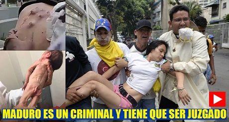 Maduro es un criminal y tiene que ser juzgado