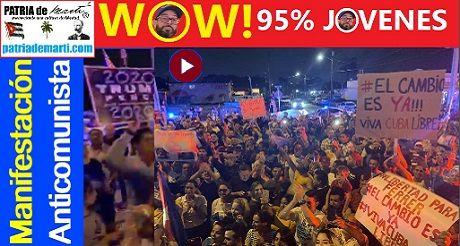 Manifestacion Anticomunista En Miami Otaola