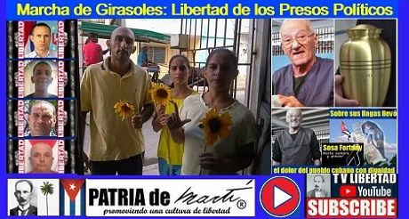 Marcha de Girasoles: Libertad de los Presos Políticos