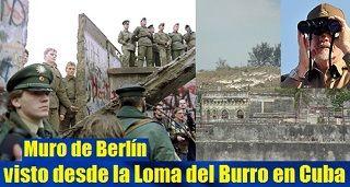 Muro de Berlín visto desde la Loma del Burro