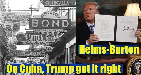 On Cuba, Trump got it right