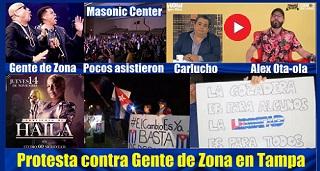 Otaola Protesta Contra Gente De Zona En Tampa Y Concierto De Haila En Miami Mobile