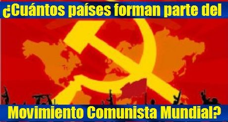 Paises Movimiento Comunista Mundial