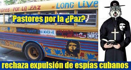 Pastores Por La Paz Rechaza Expulsion De Espias Cubanos