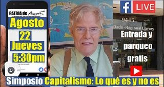 Capitalismo: Lo qué es y no es. Invitación al Simposio
