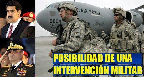 Posibilidad de intervencion militar en Venezuela