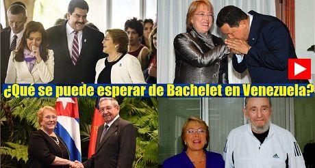 Que Se Puede Esperar De Bachelet En Venezuela