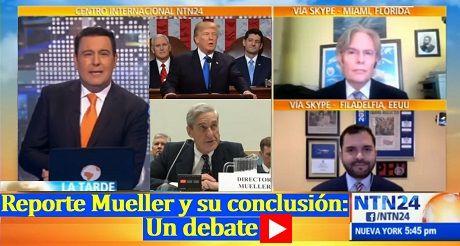 Reporte Mueller y su conclusion Un debate