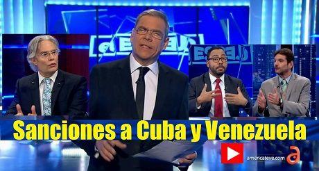 Sanciones A Cuba Y Venezuela