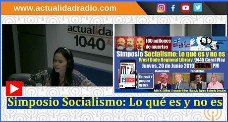 Sobre El Simposio Socialismo Lo Que Es Y No Es