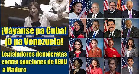 Socialistas ¡Váyanse pa Cuba o Venezuela!