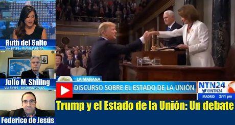 Trump Estado de la Union debate NTN24