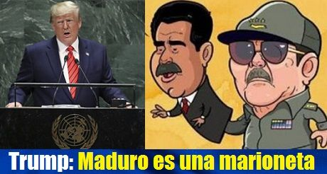 Trump En La ONU Maduro Es Una Marioneta