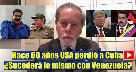 USA Perdio A Cuba Sucedera Lo Mismo Con Venezuela