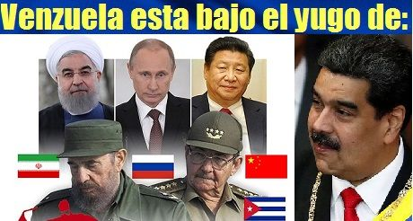 Venezuela Bajo El Yugo De Cuba Rusia China Iran
