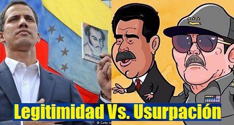 Venezuela Legitimidad De Guaido Usurpacion De Maduro