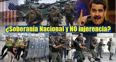 Venezuela soberania nacional y no injerencia