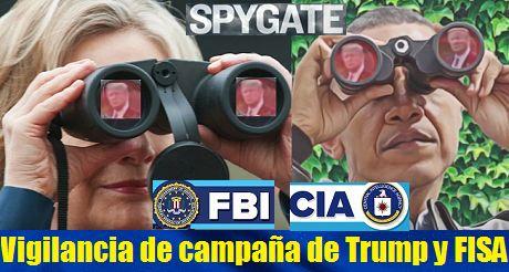 Vigilancia de la campaña de Trump y abuso FISA