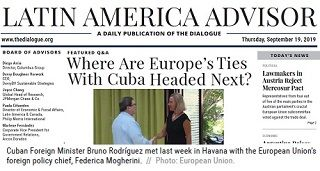 Where Are Europe Ties With Cuba Mobile