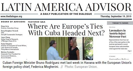 Where Are Europe Ties With Cuba