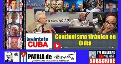 Continuismo Tiranico En Cuba