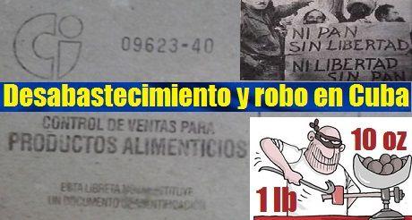 desabastecimiento y robo en Cuba