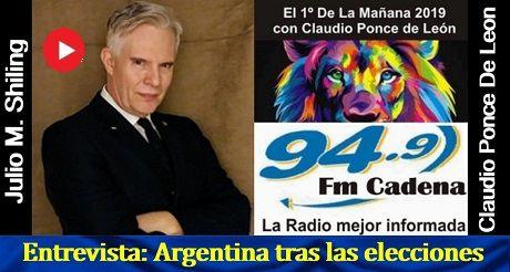 Entrevista Argentina Tras Las Elecciones