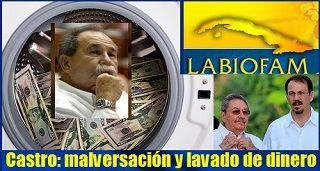 La familia Castro, malversación y lavado de dinero
