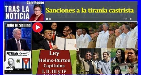 Sanciones A La Tirania Castrista