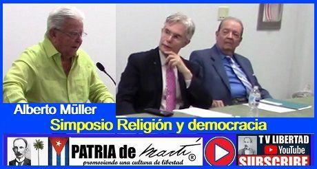 Alberto Müller - Simposio Religión y democracia