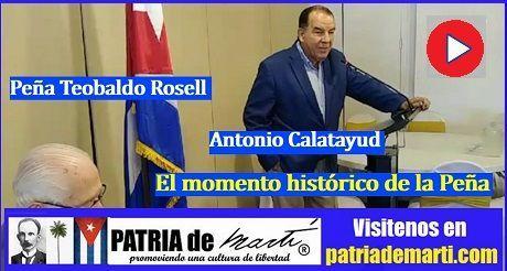 Antonio Calatayud - El momento histórico de la Peña