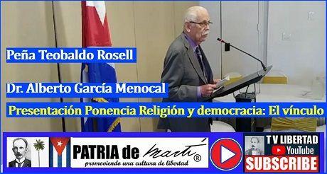 Alberto G Menocal Presentacion Presentación Ponencia Religión y democracia: El vínculo