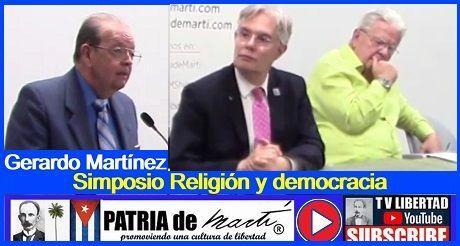 Gerardo Martínez Solanas - Simposio Religión y democracia