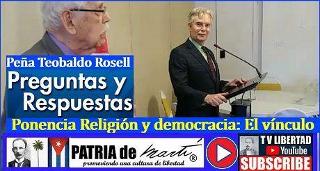Preguntas y respuesta - Ponencia Religión y democracia: El vínculo