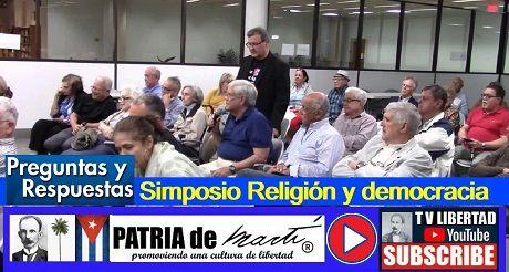 Preguntas y respuestas - Simposio Religión y democracia