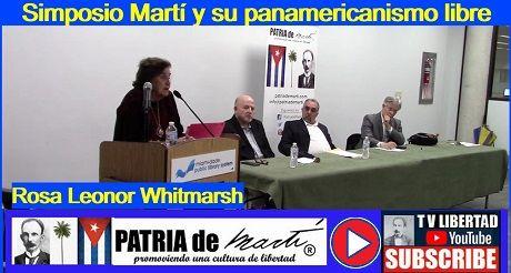Rosa L. Whitmarsh - Simposio Martí y su panamericanismo libre