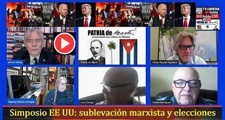Video Simposio EE UU: Sublevación marxista y elecciones