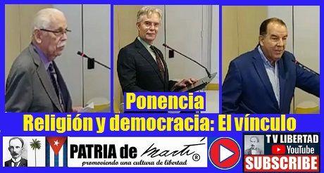 Videos Ponencia Religión y democracia: El vínculo