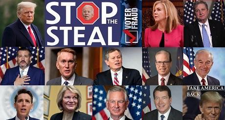 11 senadores republicanos mas objetaran los votos del Colegio Electoral