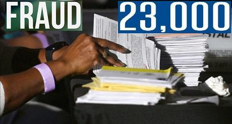 23 mil votos fraudulentos encontrados sorpresivamente en Georgia