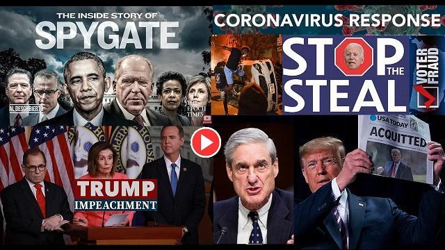 4 años de campaña contra Trump video
