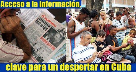 Acceso a la información, clave para un despertar en Cuba