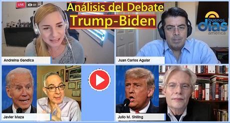 """Análisis del Debate Trump-Biden en """"Buenos Días América"""""""