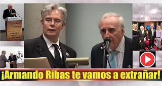 ¡Armando Ribas te vamos a extrañar!