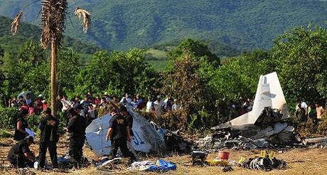 Avión venezolano caído en Guatemala traficando drogas