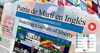 AVISO: Patria de Martí estrena nueva página en inglés