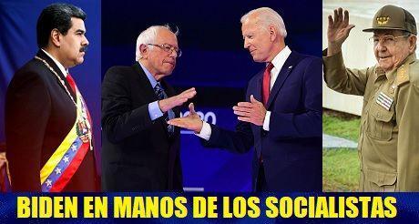 Biden en manos de los socialistas